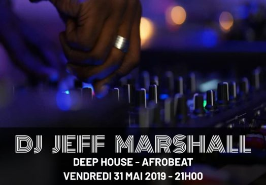 DJ Jeff Marshall au HPark