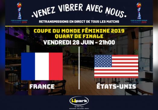 CM Féminine 2019 – France // États-Unis
