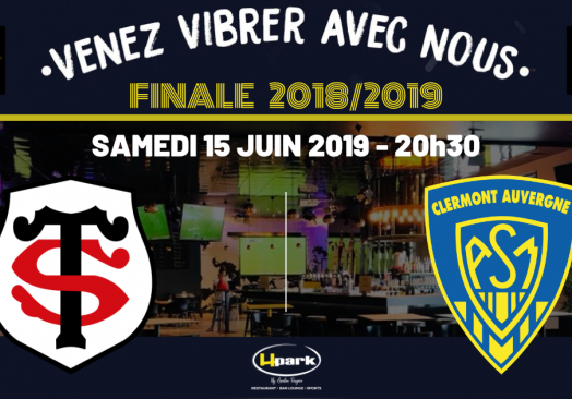 FINALE TOP 14 – TOULOUSE // CLERMONT