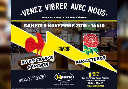 Test Match 2019 Rugby Féminin – France // Angleterre