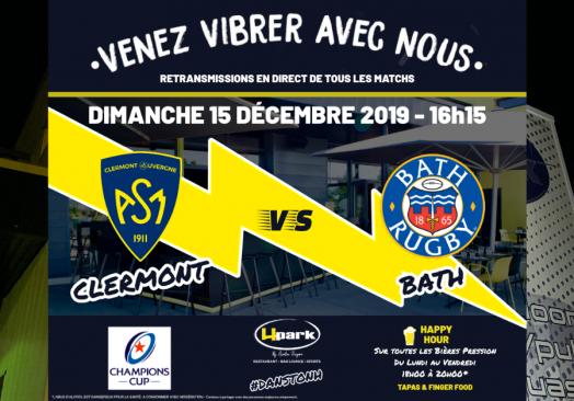 Coupe d'Europe – Clermont // Bath