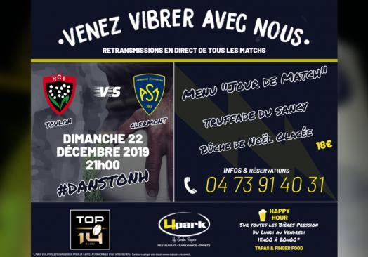 TOP 14 – Toulon // Clermont