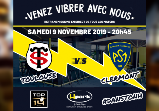 TOP 14 – Toulouse // Clermont