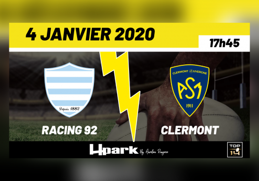 TOP 14 – Racing 92 // Clermont