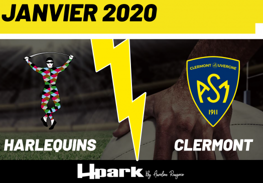 Coupe d'Europe – Harlequins // Clermont