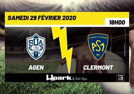 TOP 14 – Agen // Clermont