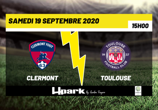 Ligue 2 – Clermont // Toulouse