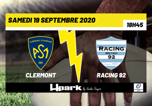 Coupe d'Europe – Clermont // Racing 92