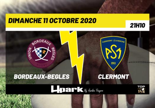 TOP 14 – Bordeaux-Bègles // Clermont
