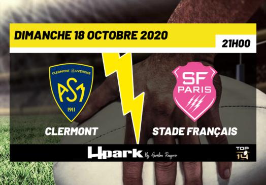TOP 14 – Clermont // Stade Français